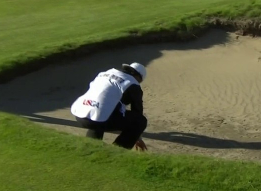 Caddie's Sand Fetish at US Amateur Image