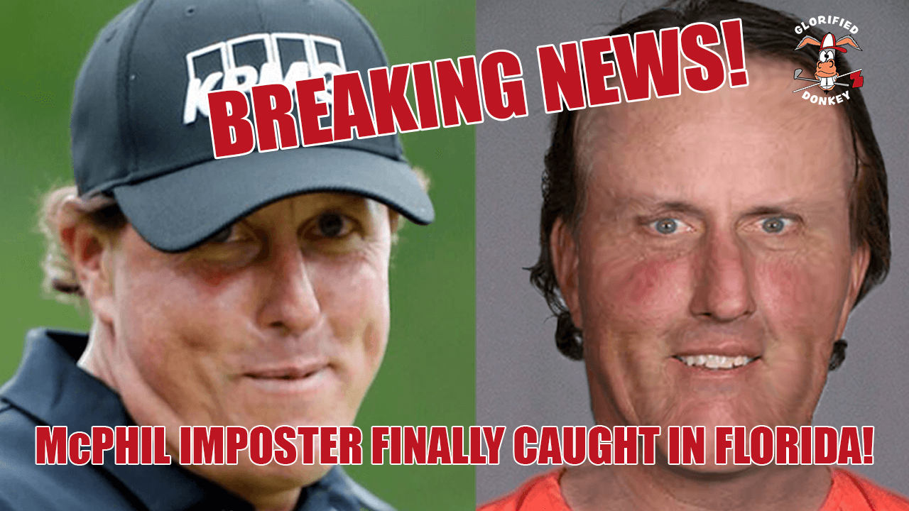 McPHIL IMPOSTER ARRESTED IN FLA!  Image