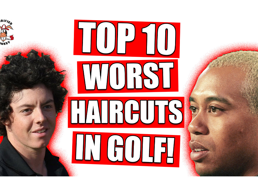 TOP 10 WORST HAIRCUTS IN GOLF Image